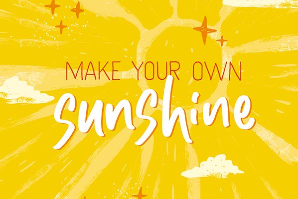 Make Your Own Sunshine image